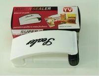 Wholesale 2015 Hot Sales Mini home sealing machine small household plastic food bag sealing machine Hand Sealer vacuum sealer