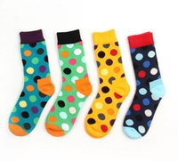Wholesale Happy Socks for Men Women Unisex Cotton Long brand High Quality Calcetines Hombre Knee High Socks