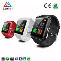home speakers - 2016 fashion luxury led smartwatch U8 smart wrist watch support bluetooth speaker calendar and pedometer