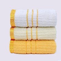 bathroom towel designs - New White and Gold Towel Towel Bathroom Cotton Face Towel for Adults Washcloth Solid Design Toalha