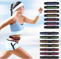 Wholesale Sport Waist pack Multifunction Cycling Running Unisex sports Waist Packs Outdoor casual waterproof phone bag invisible Travel bag B301