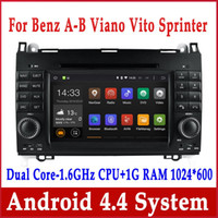 b w dvd - Android Car DVD GPS Navigation for Mercedes Benz A Calss W169 B W245 Viano Vito Spinter w Radio BT USB SD DVR G WiFi Stereo Head Unit