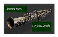 Wholesale EMS Hongkong brand FAFFEN H sax Bronze Soprano Sax