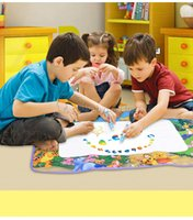 Wholesale Eco Friendly Magic water Doodle Mat for Drawing Educational Doodle Mat toys for Kids