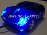 Wholesale 80pcs D Car Shape DPI USB Interface Wired Optical Mouse