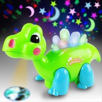 baby musical projector - 3 Color Cartoon Dragon Toy Musical LED Light Shining Dinosaur Dance Projector Educational Toys For Kid Baby Perfect Gift