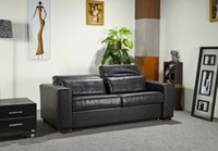 genuine leather sofa - Made in China seats recliner sofa leather sofa bed with modern design reasonable price DQ C41