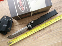 Wholesale Microtech Marfione Halo V T E knife Elmax Blade Tanto tactical knife survival knife knives with kydex sheath