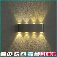 Wholesale 8W LED Wall Lamp Light Lighting Fixtures for Indoor Hotel Mall Cafe Mall KTV Bar with AC100 to V CE FCC