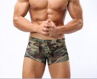 Wholesale Sexy Mens Underwear For Sale - Wholesale-Hot sale mens underwear boxer sexy men underwear men boxer,camouflage shorts for men.
