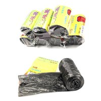 Wholesale 50Pcs Home Office Cleaning Rubbish Refuse Trash Garbage Waste Bin Bag organizers x60cm