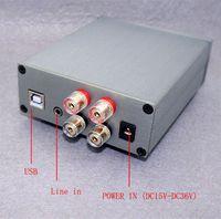 audio amplifier digital input - HIFI EXQUIS TDA7498E digital amp Wx2 with USB audio decoding DAC and analogic dual input amplifier