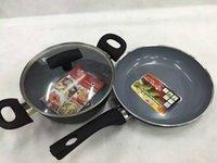 Wholesale Vit e for ess for france vit e single handle frying pan piece set pots and pans dual