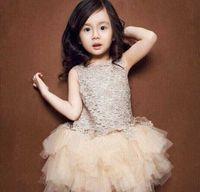 american girl stock - Retail Best Seller New Arrival Girls Lace Winter Dresses Kids Party Wedding Dresses In stock Best Seller