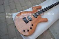 Wholesale new special shape electric guitar with mahogany body and black hardware made in china foam box to USA F A