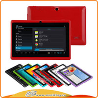Wholesale Cheap inch Q88 kids Tablet PC Capacitive Screen Android tablet M G Dual camera