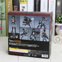 attack years - Attack on Titan Approx cm Figma Mikasa Ackerman quot PVC Action Figure Model Toy