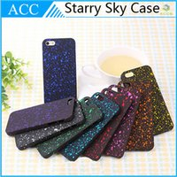 bling bling - Bling Frosted Starry Sky D Glitter Star Hard PC Case For iPhone Plus iPhone6 Colorful Back Cover Fluorescence D Visual Effect DHL