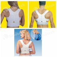 Cheap Magnetic Posture Support Corrector Belt Back Band Pain Brace Shoulder for Sport Safety Adjustable Unisex Free DHL Factory Direct
