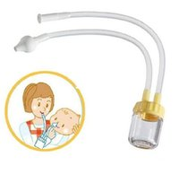 baby nose vacuum - New Arrive Infant Safe Nose Cleaner Vacuum Suction Nasal Mucus Runny Aspirator High Quality hot baby care