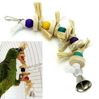 Wholesale Parrot Bird Swing Chew Toy Rope Harness Hanging Ring Cage Cockatoo Macaw order lt no track