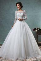 Cheap muslim wedding dresses Best long sleeves wedding dresses