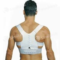 Wholesale Magnetic Posture Support Corrector Back Belt Band Pain Feel Young Belt Brace Shoulder for Sport Safety Adjustable Free DHL Factory Direct