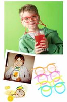 amazing silly straw - Amazing Silly multi colors Glasses Drinking Straw Eyeglass Frames iIUd