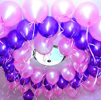 balloon base - 10 inch gram Party Decoration Latex Ballons Thicken based pearlescent Wedding birthday Party Supplies Round festive balloon