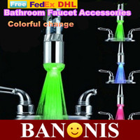 Cheap High-quality color change LED Faucet, novelty household items, creative kitchen, bathroom products, taps,Quality assurance,30x