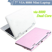 Wholesale Cheap inch Android MINI laptop netbook VIA Cortex A9 GHZ HDMI WIFI Camera MB G GB GB USB Mini Notebook Android computer