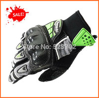 Wholesale FREE SHIPIPNG BRAND NEW original MEN S KAWASAKI Genuine Leather gloves Driving Motorcycle gloves Cycling Gloves