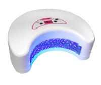 Wholesale LED Nail UV Lamp W Nail Dryer for Gel Nail Polish V V LED Lamps light