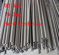 Wholesale 4x0 mm Hard Condition Stainless Steel capillary small pipe stainless steel tube about mm pc