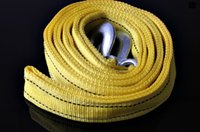 Wholesale 4 m t double thick off road vehicles with trailers a bag strong auto tow rope fluorescent reflective leashes