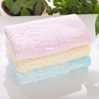 absorbent cotton manufacturer - 50pcs Towel manufacturers panda bamboo bamboo fiber cotton creative green antimicrobial absorbent towel children infant Cazui