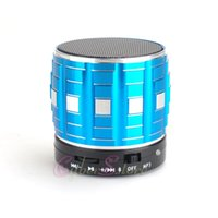 Wholesale Metal Wireless Bluetooth Speaker Micro TF Card Read Radio For MP3 Car Ipad Air Mini Cellphone Tablet Iphone