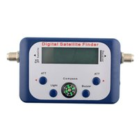 Wholesale Hot New Useful Portable Mini Digital LCD Display Satellite TV Signal Finder Satfinder Tester Drop Shipping
