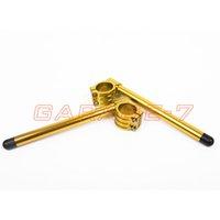 Wholesale Clip Ons Clipon Fork Handle Set mm For Kawasaki Z1 A B One Pair Of High Quality Universal CNC Handlebars