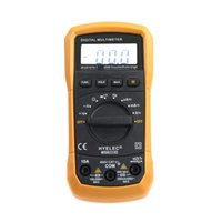 Wholesale MS8233D Counts Professional Digital Electrical Handheld Tester LCD Autorange Display Multimeter Multimetro HYELEC order lt no track