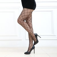 Wholesale Women Sexy Lace Hot Top Thigt High Stockings Pantyhose Mesh Thigh Stockings Sexy Female High Fishnet Stockings Free Shioping