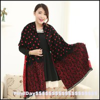 air conditioner manufacturers - Wave point jacquard double cashmere scarf air conditioner shawl manufacturers