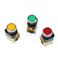 Cheap Free Shipping 1PC Momentary Push Button Press Switch Heavy Duty Power LA38-11 203
