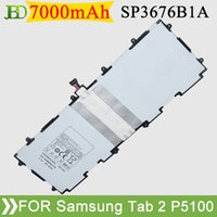 Wholesale NEW Genuine mAh Tablets Battery for amsung Galaxy Tab P5100 P6800 P6810 SCH I815 SP397281A Tab batteries