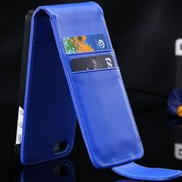 Wholesale Luxury Vertical Flip PU Leather Case For Iphone4s Card Slot Phone Cases Protective Pricise Hole Cover For Iphone s Case