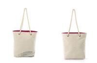 Panier & loisirs toile sac fourre-tout sac imprimé shopping de poisson de la mode sac durable de support réutilisable