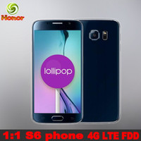 Wholesale Really G LTE HDC S6 G9200 Cell phone Octa core MTK6592 GB RAM Smart phone G ROM Android MTK6582 MTK6735 Quad S6 Mobile phones