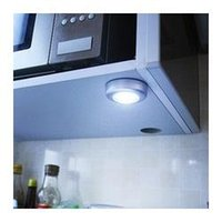 Wholesale 1 Wall Light Kitchen Cabinet Closet Lighting LED Sticker Tap Touch Lamp Lamps Colors New Arrival