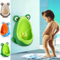 Wholesale New Arrival Children Frog Toilet Training Kids Urinal Plastic for Boys Pee Baby Potty Wall Hung Type Kids Toilet Portable Potty Boy Urinals