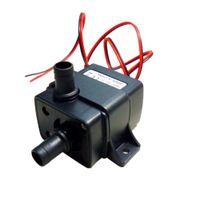 Wholesale DC12V W Mini Brushless Submersible Water Pump Fountain Flowerpot Fish Tank Aquarium Pumps Low Consumption